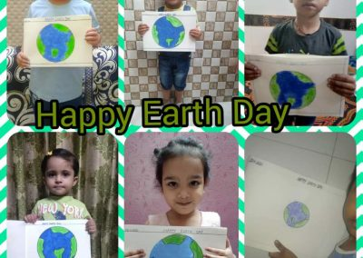 COLLAGE 1 EARTH DAY ACTIVITY