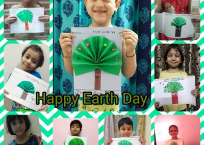 COLLAGE 5 EARTH DAY ACTIVITY