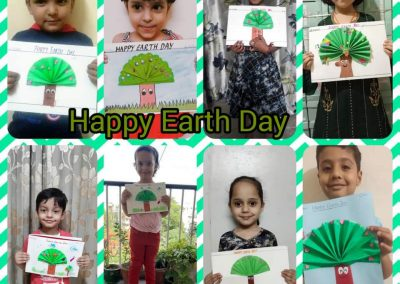 COLLAGE 6 EARTH DAY ACTIVITY