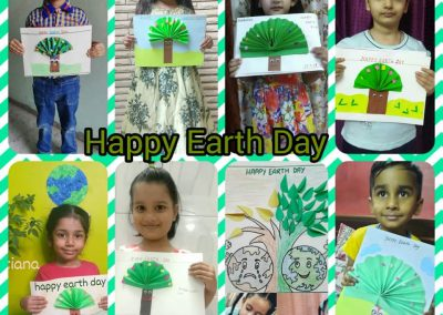 COLLAGE 7 EARTH DAY ACTIVITY