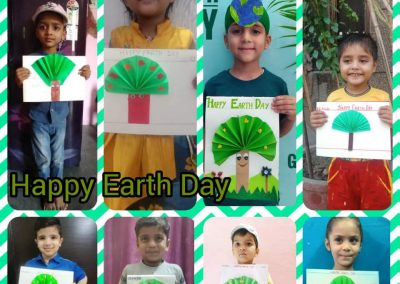 COLLAGE 8 EARTH DAY ACTIVITY