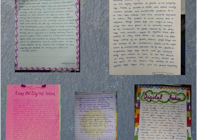 COLLAGE2 CLASSES IX-XII ON THE SPOT ESSAY WRITING ACTIVITY