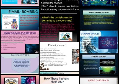 Collage 1 Cyber Security Activity Classes IX-XI
