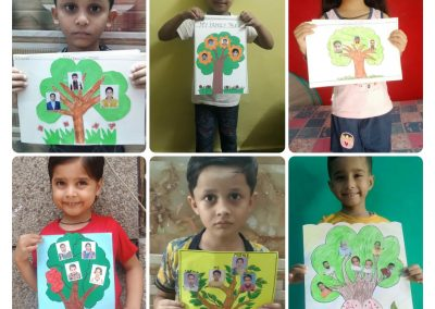 Collage 5 Family Tree Activity