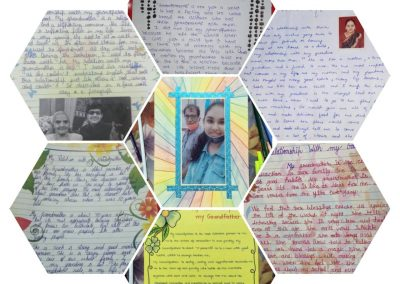 Collage1 Class IX-XII Creative Writing Activity