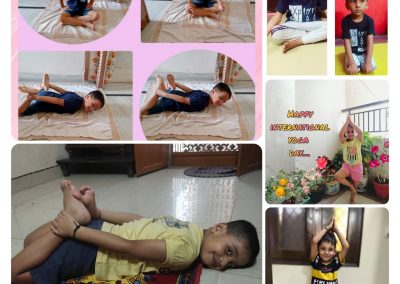 Collage2-PrePrimary Class (YogaDay)