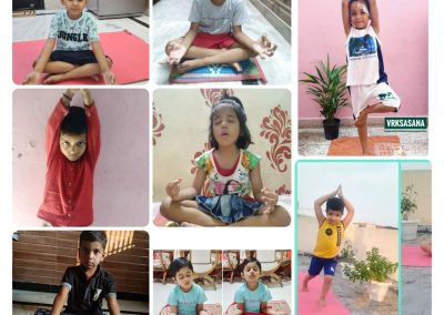 Collage3-PrePrimary Class (YogaDay)