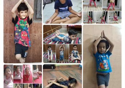 Collage4-PrePrimary Class (YogaDay)