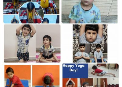Collage5-PrePrimary Class (YogaDay)