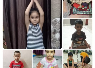 Collage6-PrePrimary Class (YogaDay)