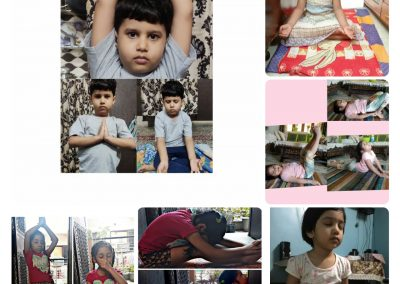 Collage7-PrePrimary Class (YogaDay)