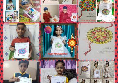 Collage-1 Raksha Bandhan Activity