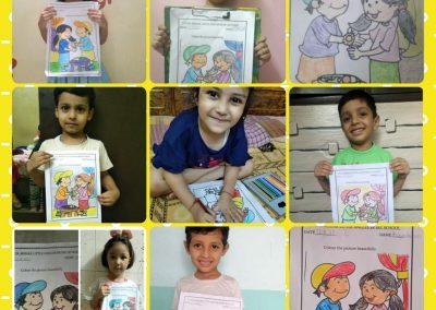 Collage-10 raksha Bandhan Activity