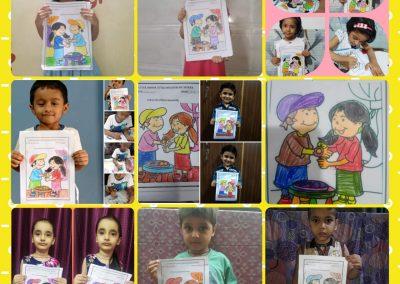 Collage-11 raksha Bandhan Activity
