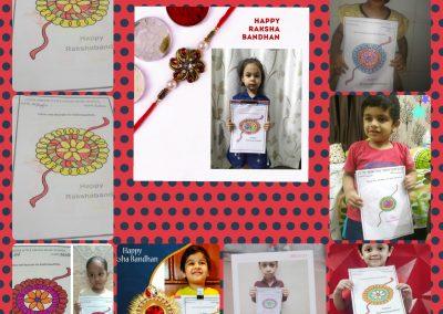 Collage-2 Raksha Bandhan Activity