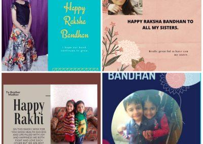 Collage-2 Rakshabandhan ctivity