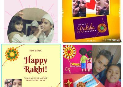 Collage-3 Rakshabandhan ctivity
