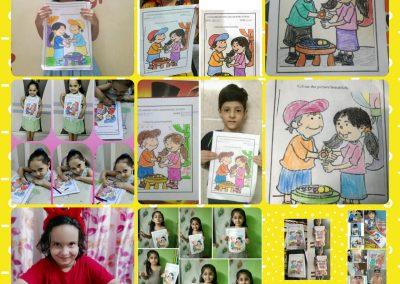 Collage-8 raksha Bandhan Activity